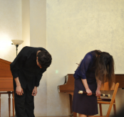 bowing